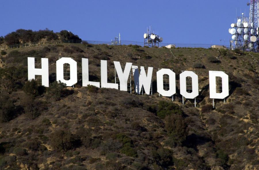 Słynny napis Hollywood na wzgórzu