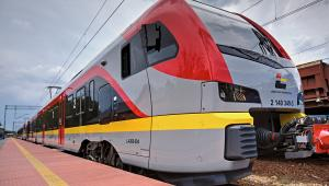 Flirt spółki ŁKA - jeden z 16 pociągów