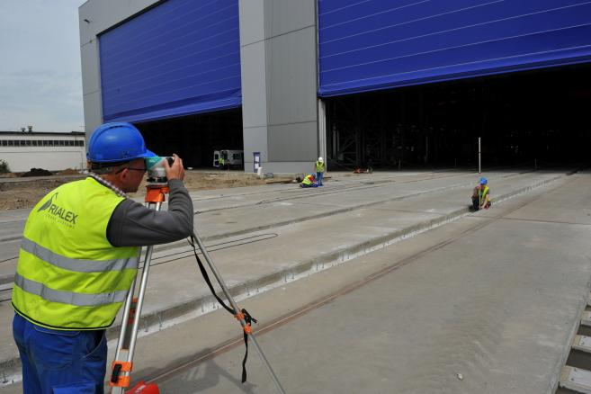 Budowa zakładów produkcyjnych Bilfinger Mars Offshore w Sczecinie