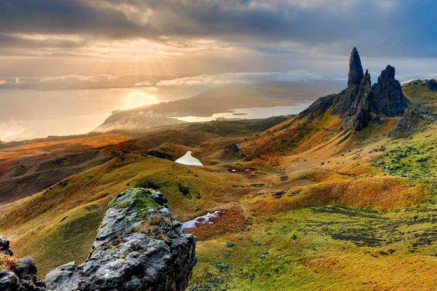 Highlandy, Szkocja. Fot. Pixabay