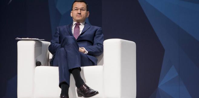 Mateusz Morawiecki podczas Europejskiego Kongresu Gospodarczego