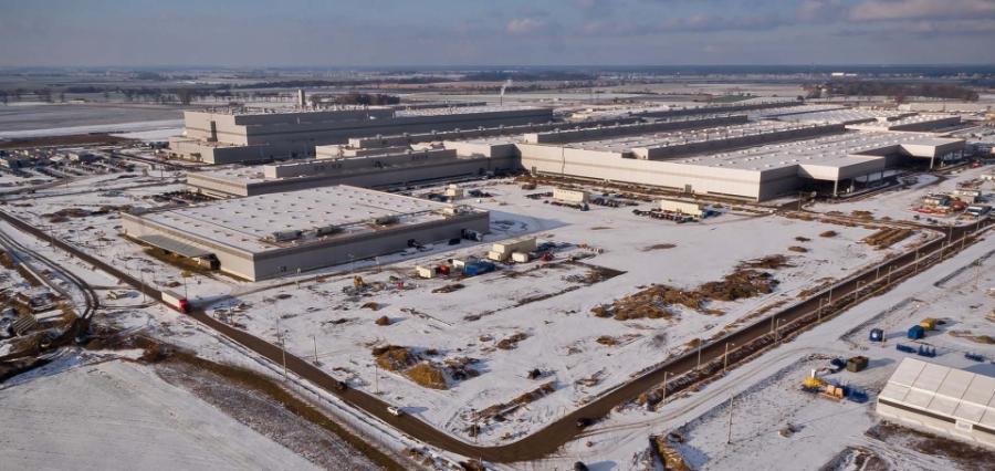 Nowa fabryka Volkswagena koło Wrześni (Wielkopolskie)