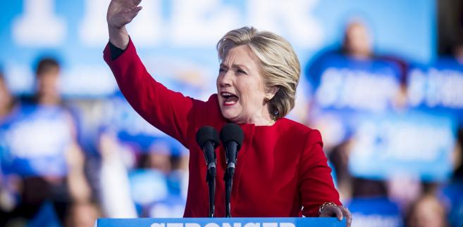 Hillary Clinton w Pittsburghu w stanie Pensylwania, 7.11.2016