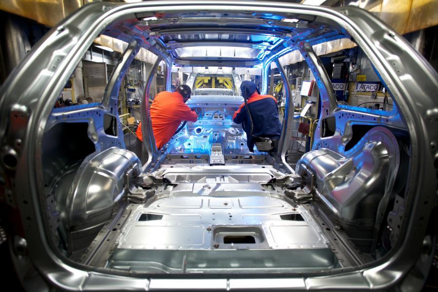 Fabryka samochodów marki Volvo