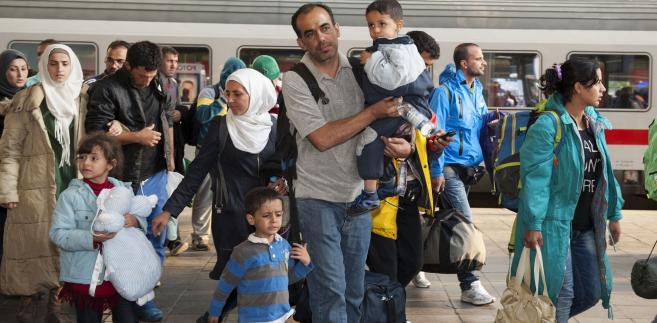 Uchodźcy z Syrii