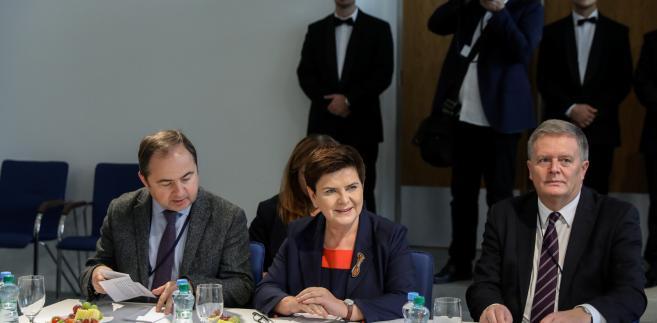 Beata Szydło na szczycie Grupy Wyszehradzkiej