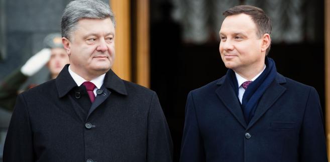 Prezydenci Polski i Ukrainy, Andrzej Duda i Petro Poroszenki
