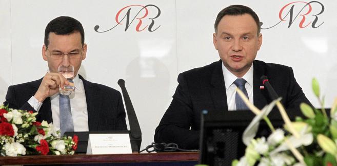 Andrzej Duda, Maateusz Morawiecki