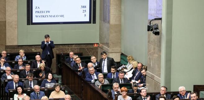 Wynik głosowania nad zmianami w ustawie o IPN