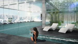 Dla gości udostępnione będą liczne atrakcje, basen ze strefą spa & wellness, restauracja oraz podziemny parking