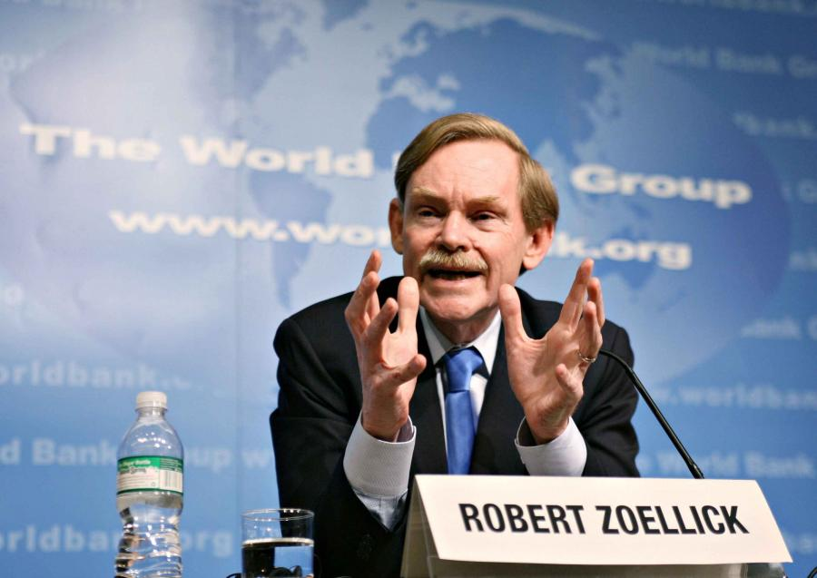 Prezes Banku Światowego Robert Zoellick. fot. Bloomberg