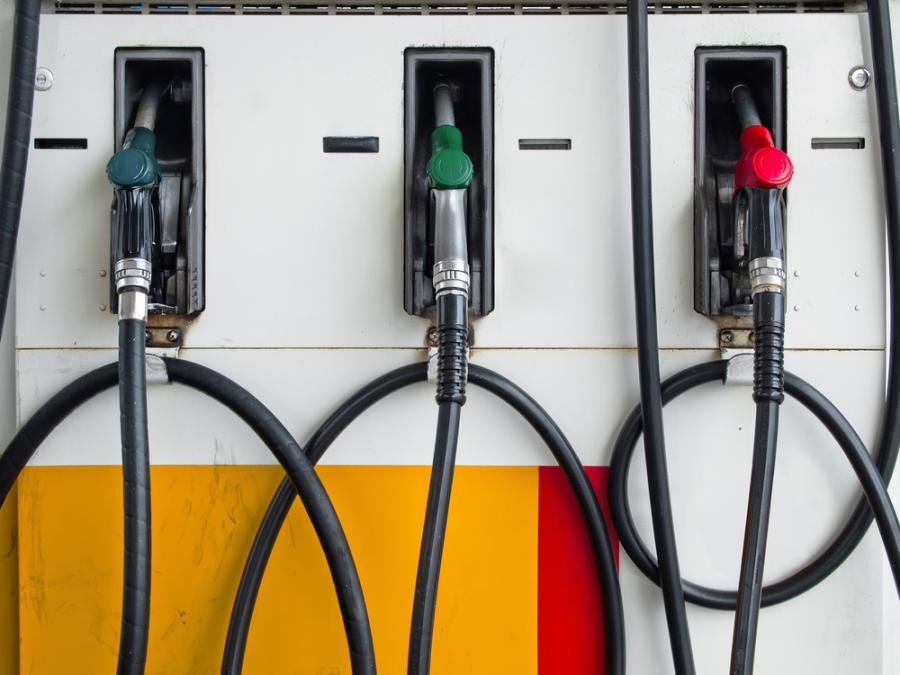 Paliwo, stacja benzynowa Fot. Shutterstock