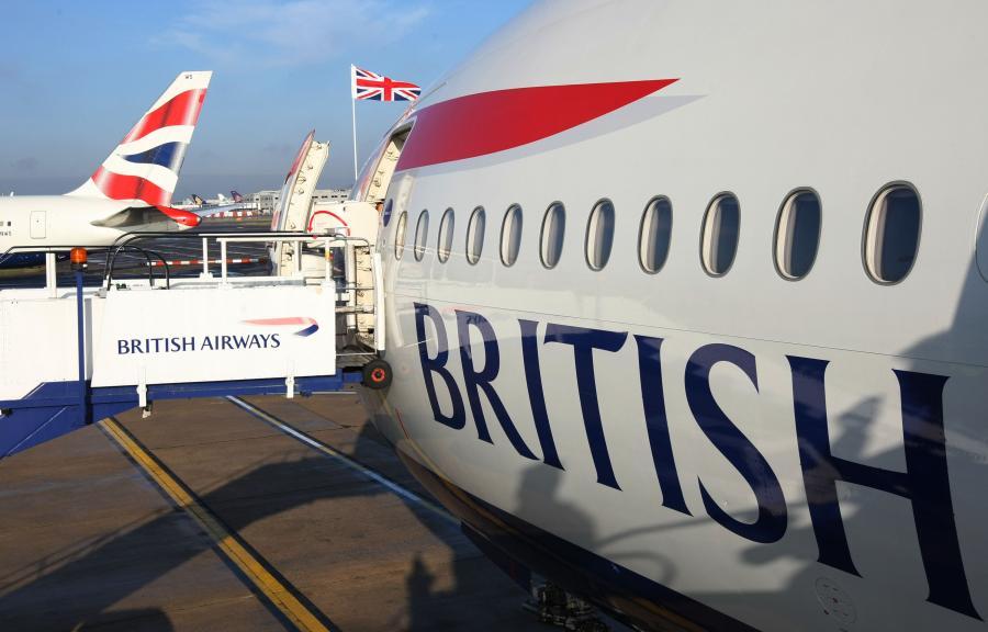 Samoloty lini British Airways