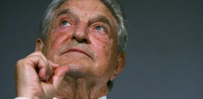 Miliarder George Soros, prezes i założyciel Soros Fund Management LLC