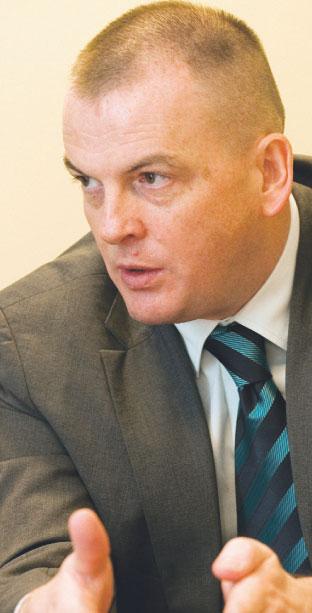 Robert Soszyński, prezes Przedsiębiorstwa Eksploatacji Rurociągów Naftowych Przyjaźń Fot. Wojciech Górski