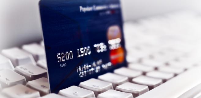 Zakupy w internecie, karta kredytowa, internet