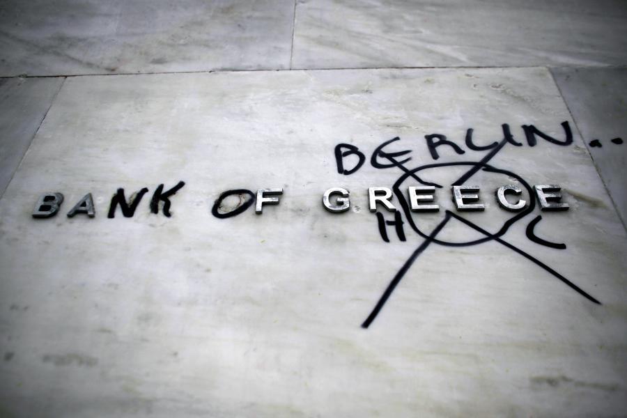 Protesty w Grecji