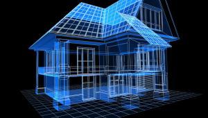 Trójwymiarowy model domu, fot. YAKOBCHUK VASYL