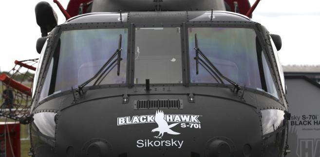 Helikopter Black Hawk S-70i na targach lotniczych Farnborough 2012