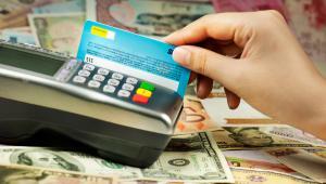 terminal, karta, pieniądze